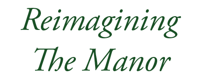 reimagining the manor logo